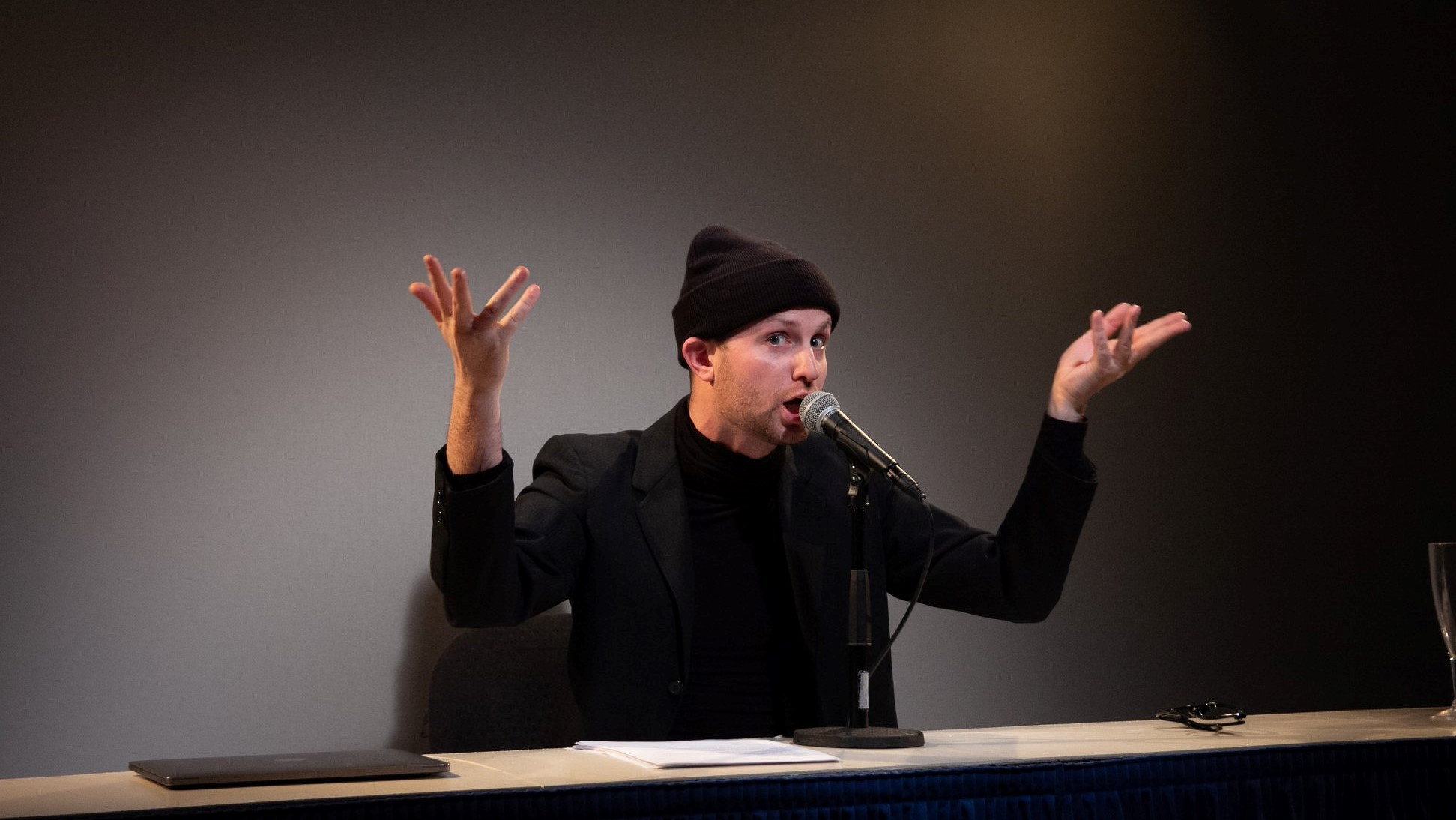 Michael Breslin in Avital, Yale Cabaret