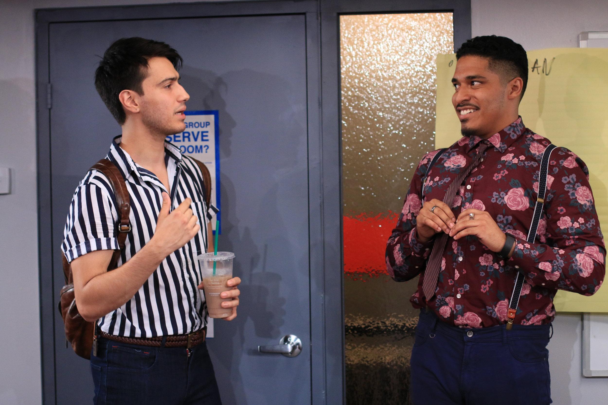 Isaac (Dario Ladani Sanchez), Xavier (Robert Lee Hart)