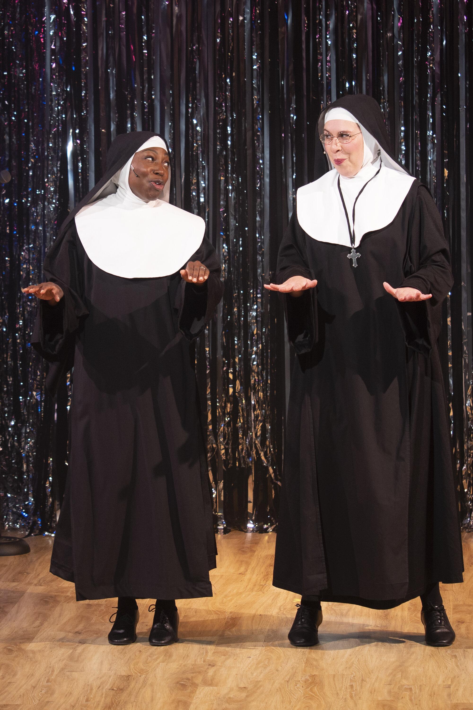 Sister Mary Hubert (Brandi Porter), Sister Mary Regina (Amanda Forker)