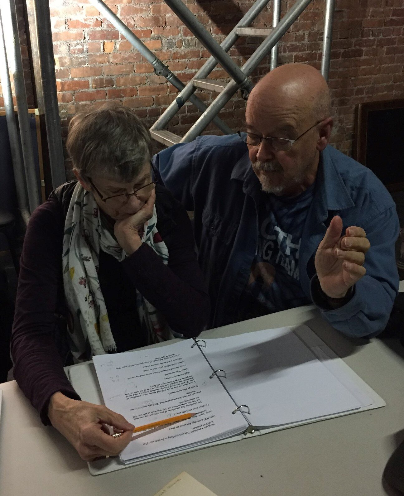 Co-Directors Margaret Mann and John Watson