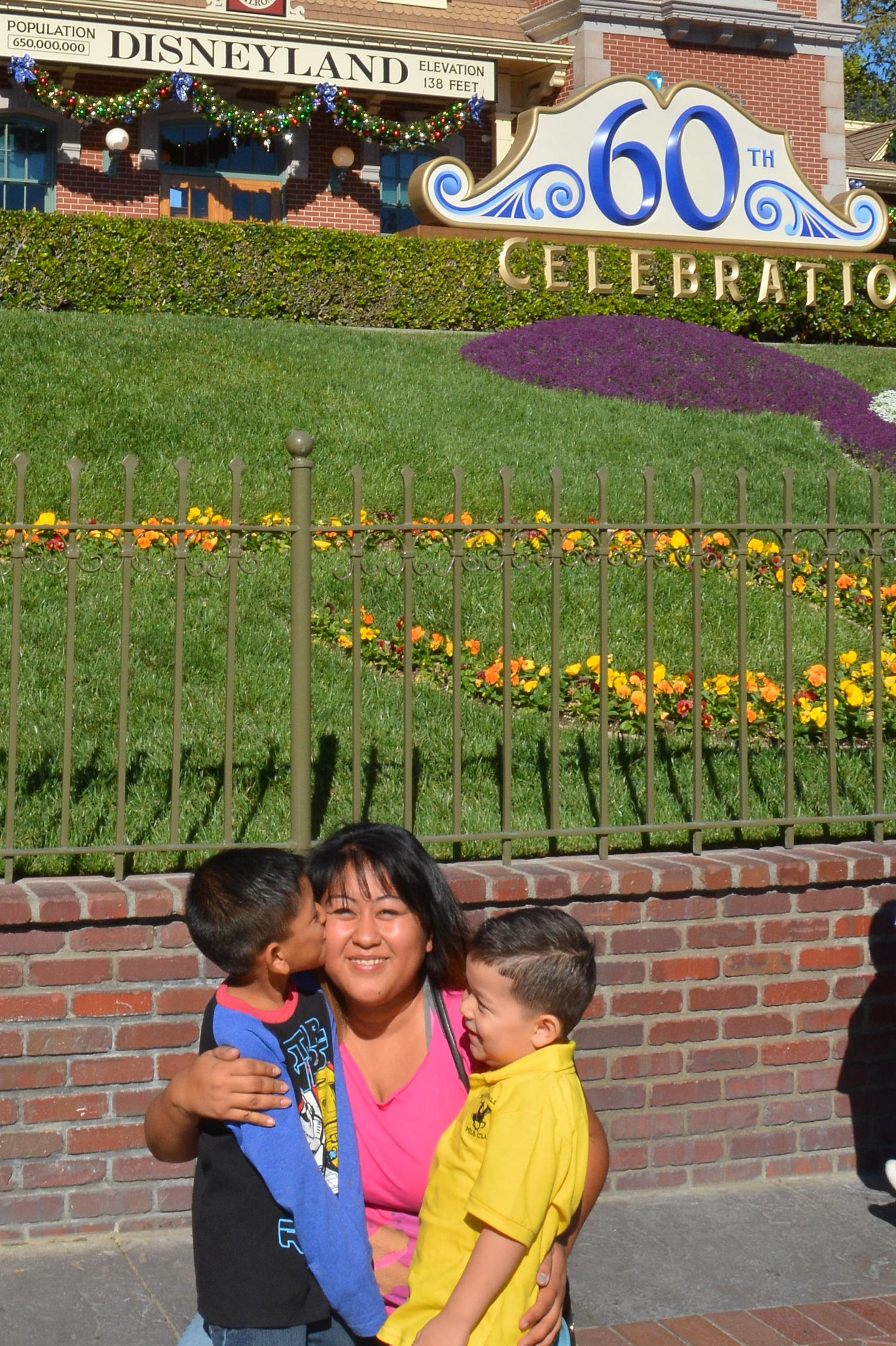 My baby on the left, Alex (5), me, Yoconda (center) and my nephew, Daniel (3)