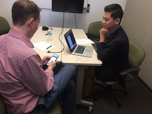 Facilitating user test on Mobile device - May 2017
