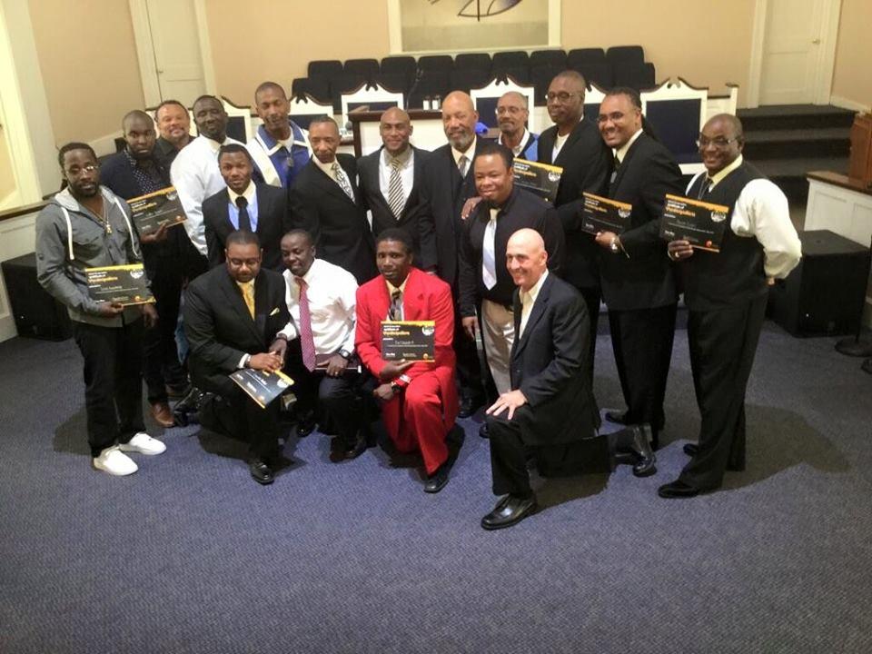 Greater New Beginnings Christian Church - Man Enough graduation ceremony 2016.