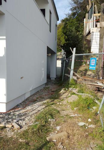 Concrete driveways,- Job started Mt Pleasant, Christchurch
