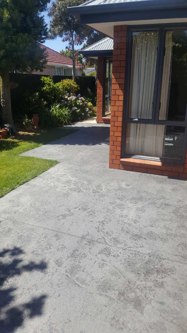 Concrete rejuvenation - Stamped concrete - Driveway, path and patio-4.jpg