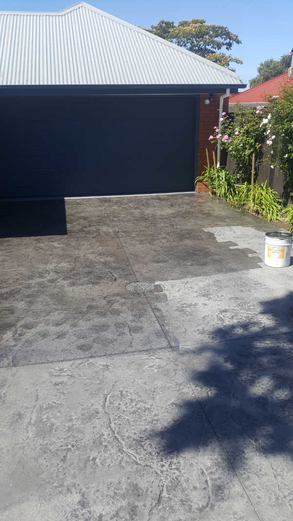 Concrete rejuvenation - Stamped concrete - Driveway, path and patio-11.jpg