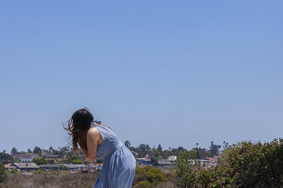 just a blue dress  6:00  Short film performance documentation