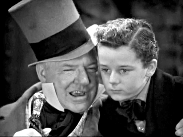 """""""I Am Born"""" is the title of the first chapter in the Dicken's novel,""""David Copperfield"""". Here is a still from the 1935 movie starringW.C. Fields and Freddie Bartholomew."""