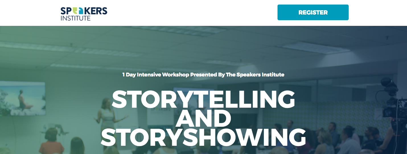 Have you ever wanted to tell gripping stories more powerfully?    Have you wanted a framework in how to effectivity use stories?    Did you want to learn the new rules in storytelling?     DOWNLOAD BROCHURE HERE: