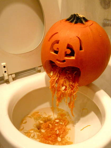 poor little pumpkin