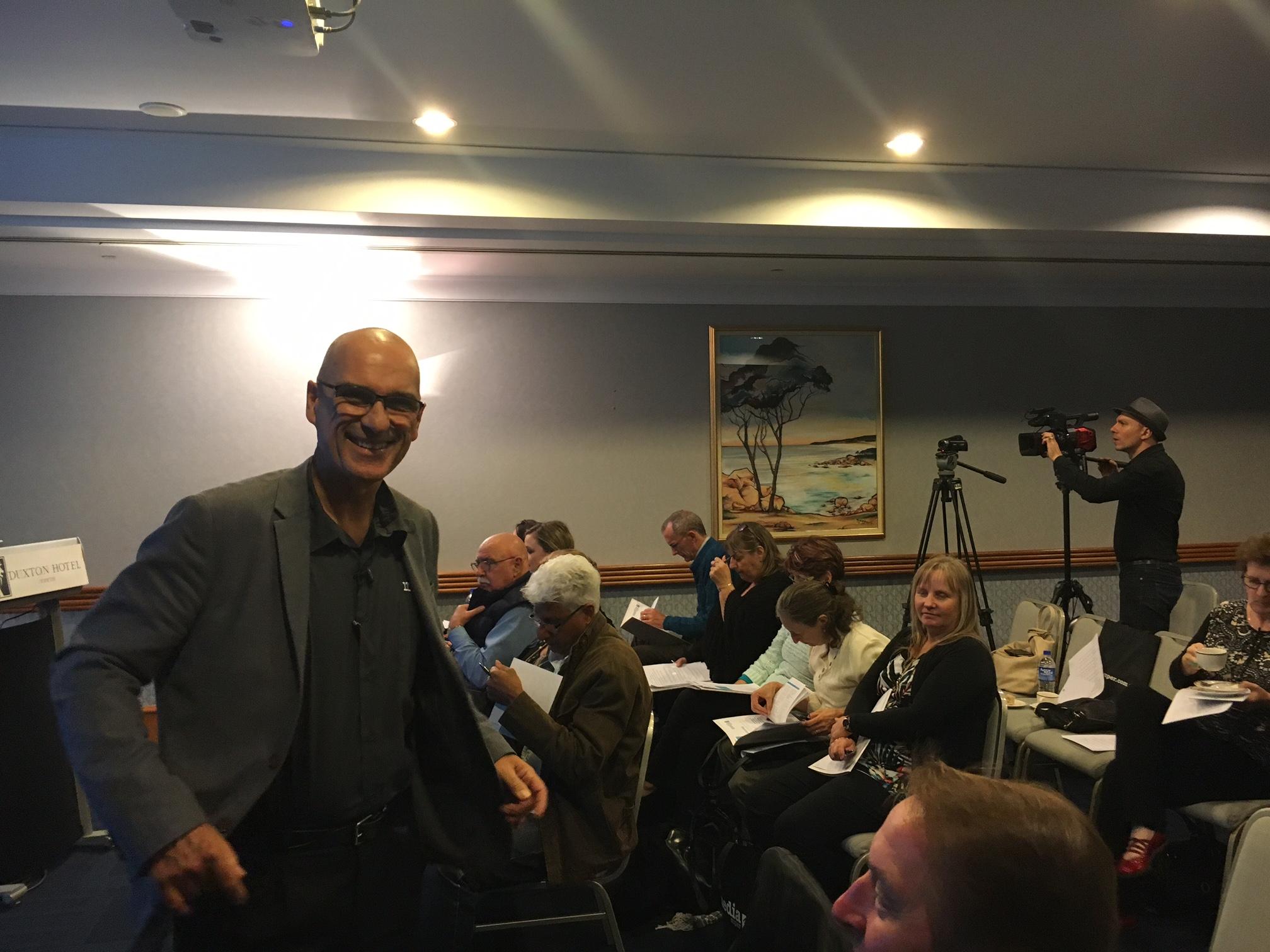 Patrick Horneman (business development for Media Super in Perth)