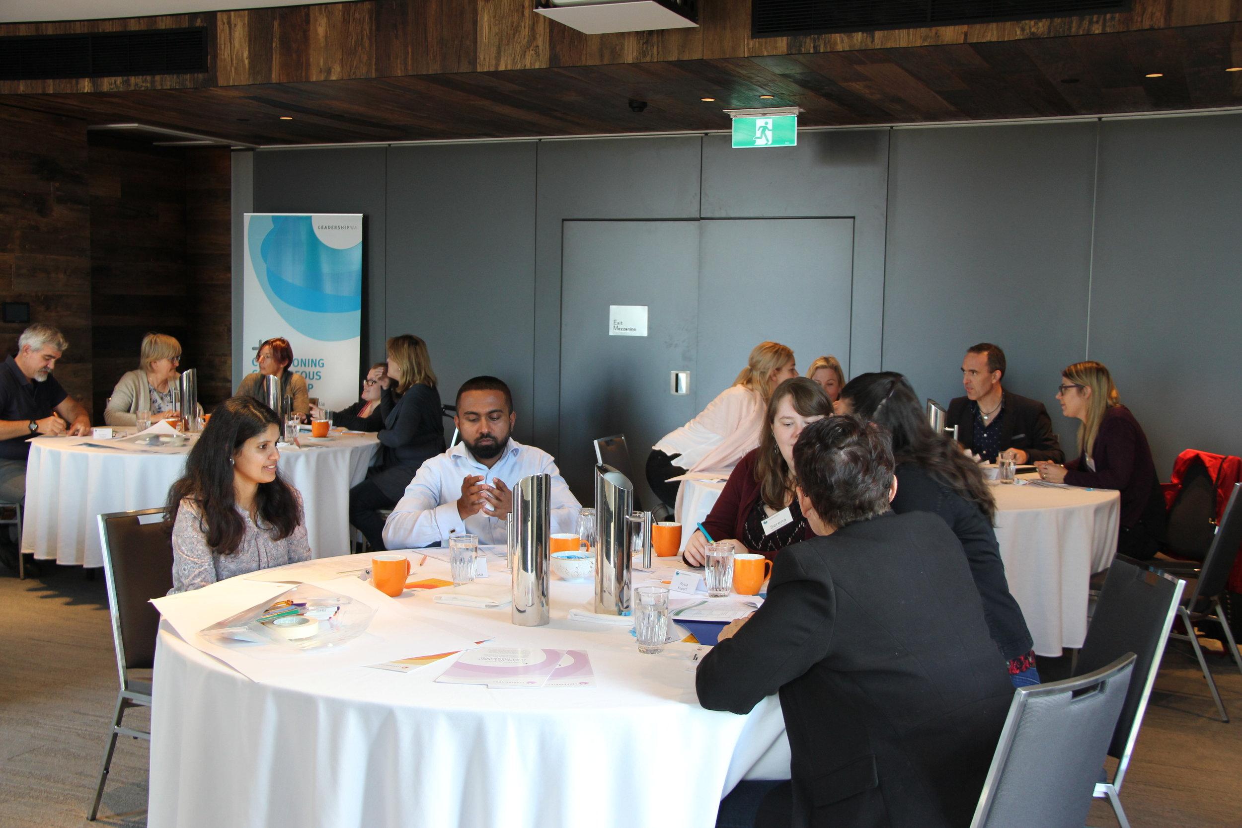Leadership WA PRINT workshop