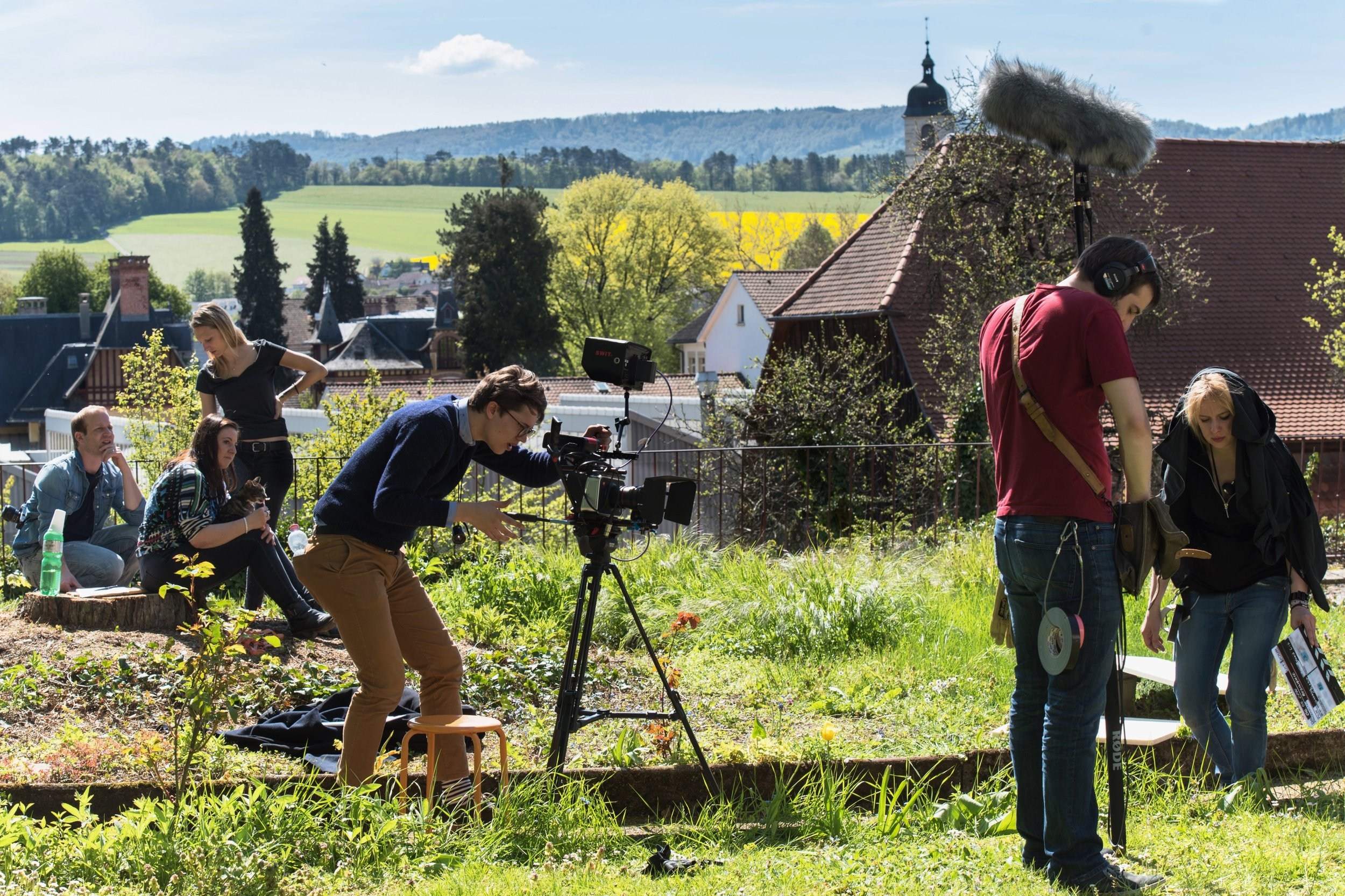 Shooting a drama film in Switzerland :    Fabrice Chapuis