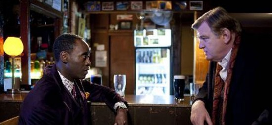 Brendan Gleeson and Don Cheadle in 'The Guard'