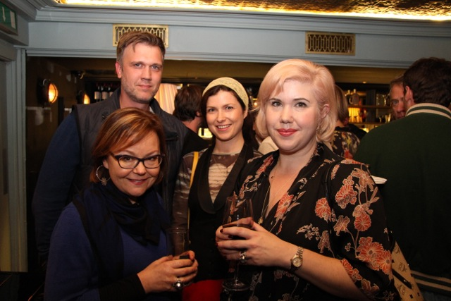 Producer Jonathan Taylor, producer Julie Baines, writer / director Aoife Crehan and Charlotte Knight.