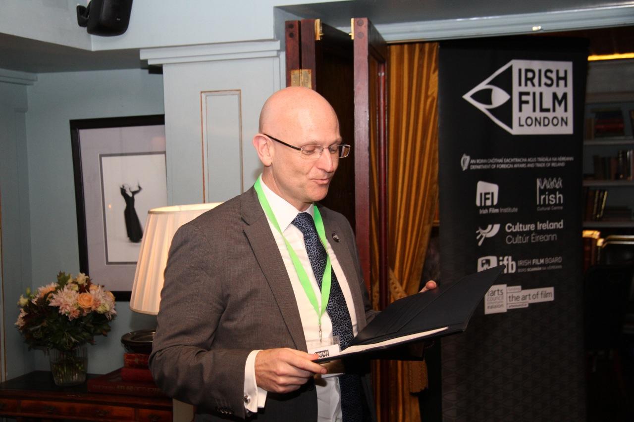 Mark McNulty, Irish Film Festival London