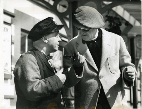 Jimmy O'Dea and John Ford