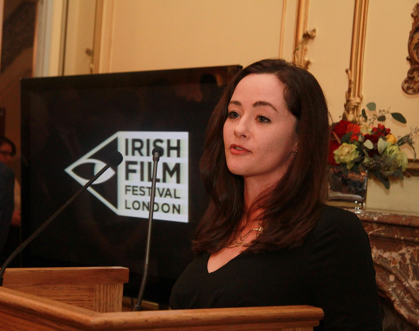 Founder and Director of Irish Film London, Kelly O'Connor