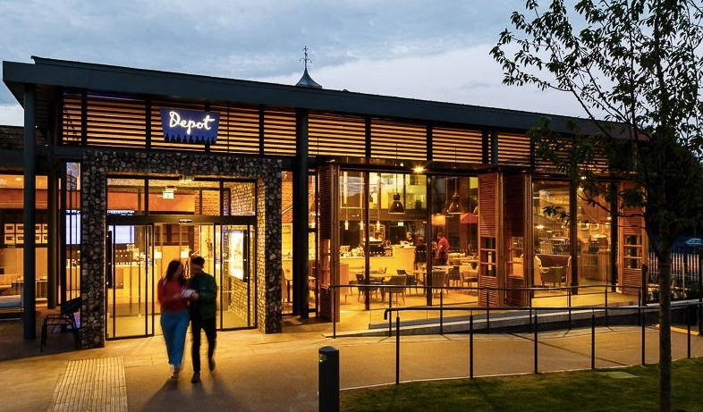 The Lewes Depot is a brand new independent community cinema and cafe-restaurant with education facilities