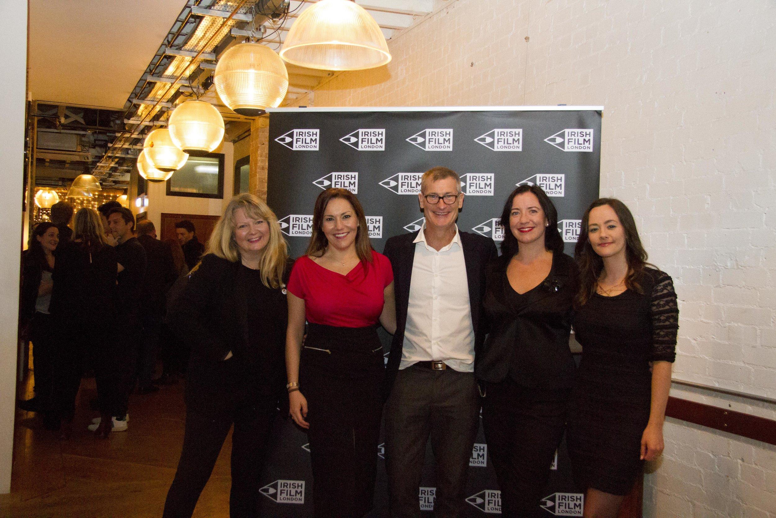 Black 47 London Premiere 2018 Photos courtesy of Noel Mullen Irish Film London 68 Irish Film London team.jpg
