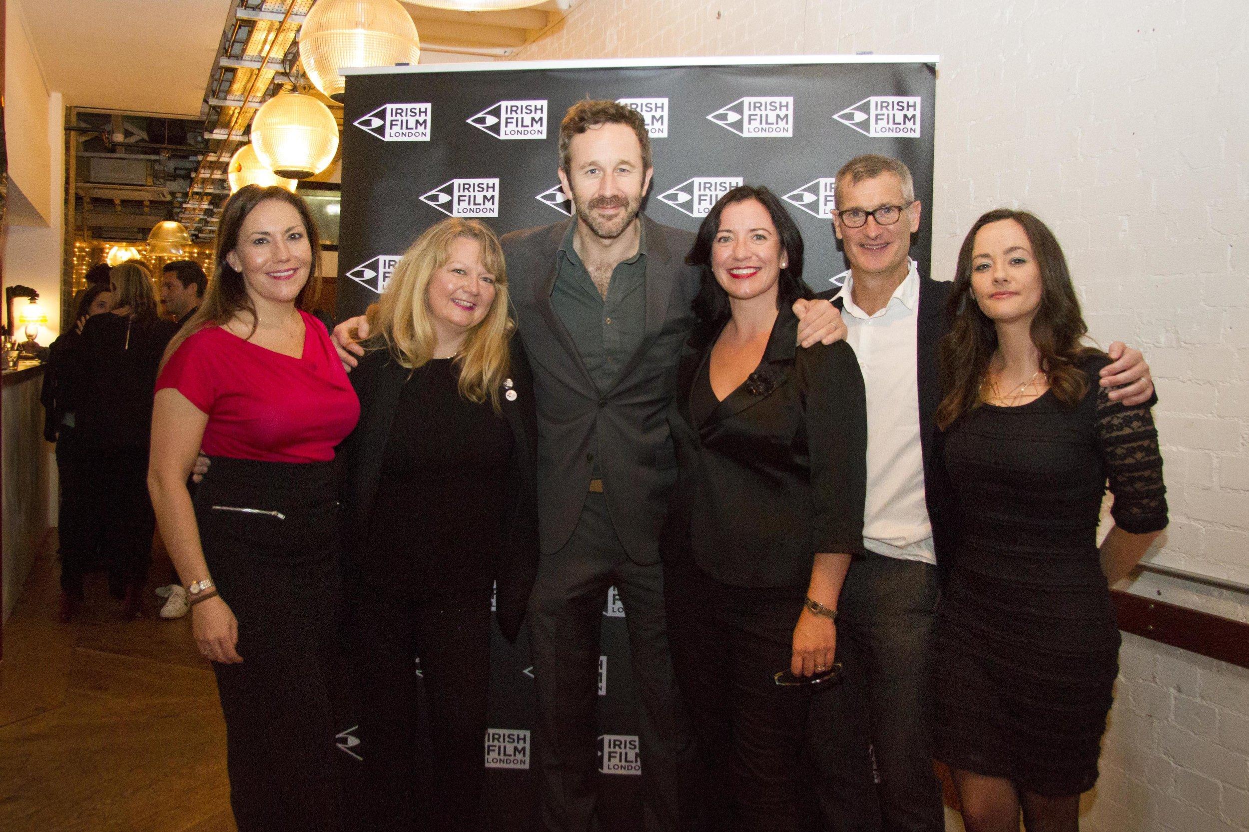 Black 47 London Premiere 2018 Photos courtesy of Noel Mullen Irish Film London 69 Irish Film London team with Chris O'Dowd.jpg