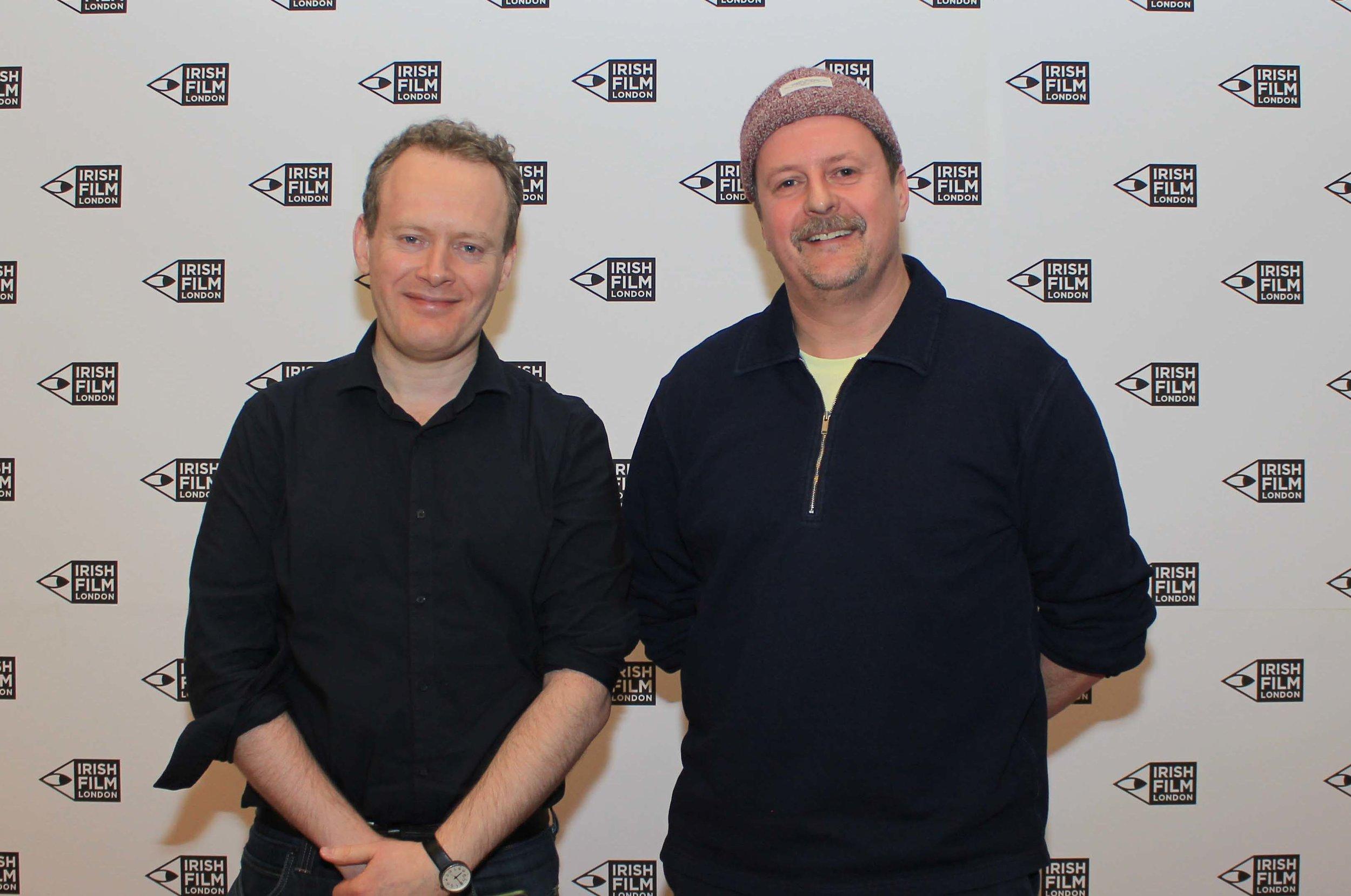 Irish Film London - Matthew Todd and John Butler