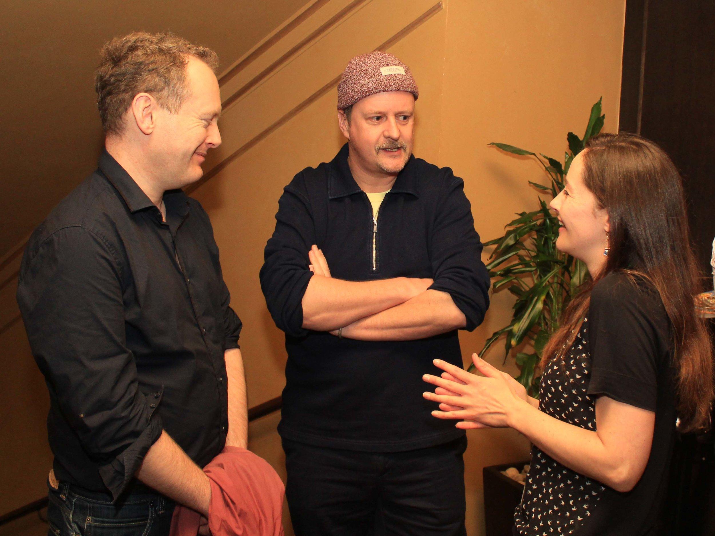 Irish Film London - Matthew Todd, John Butler and Kelly O'Connor