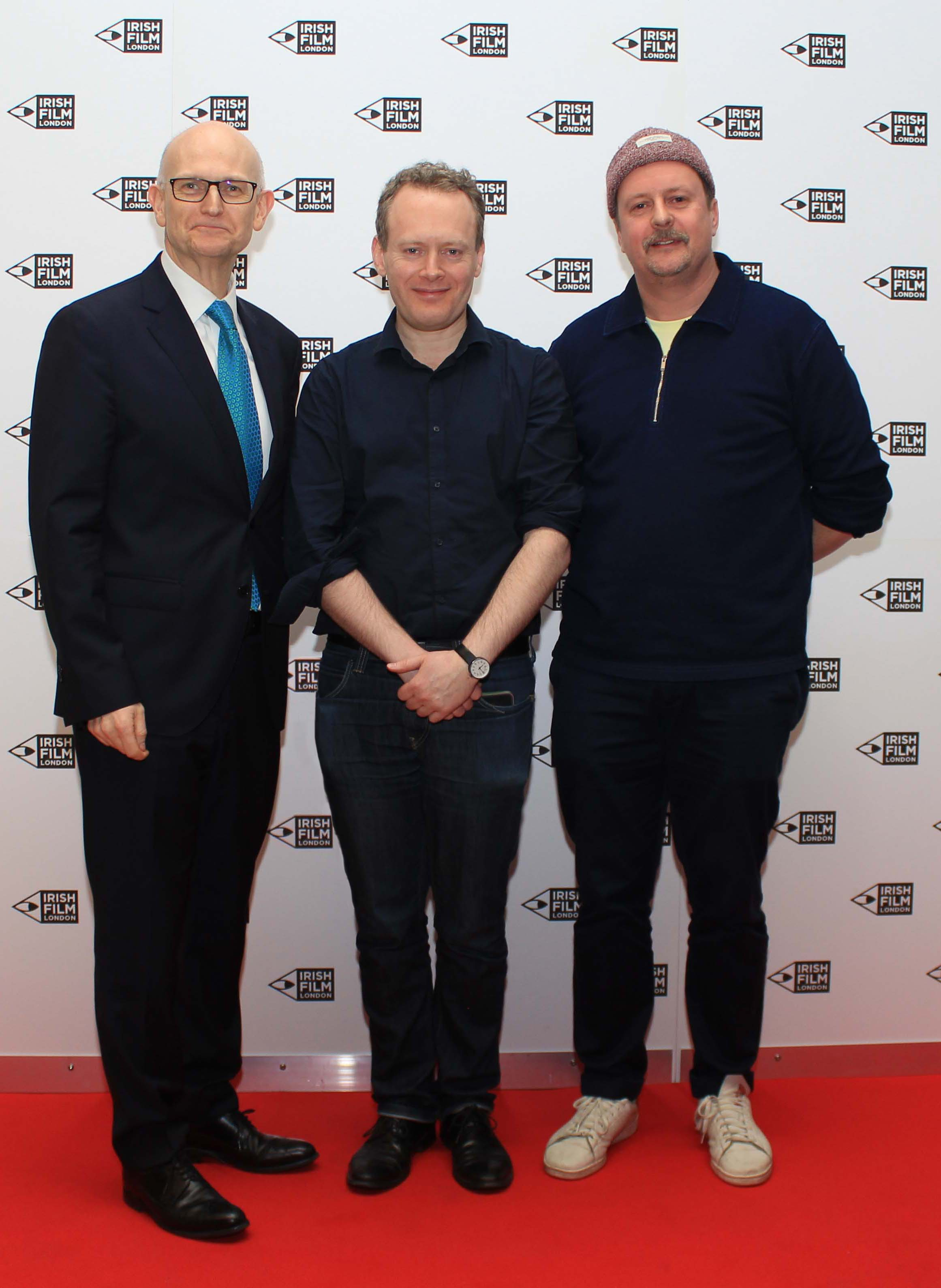 Irish Film London - Mark McNulty, Matthew Todd and John Butler at the St. Patrick's Film Festival London 2019