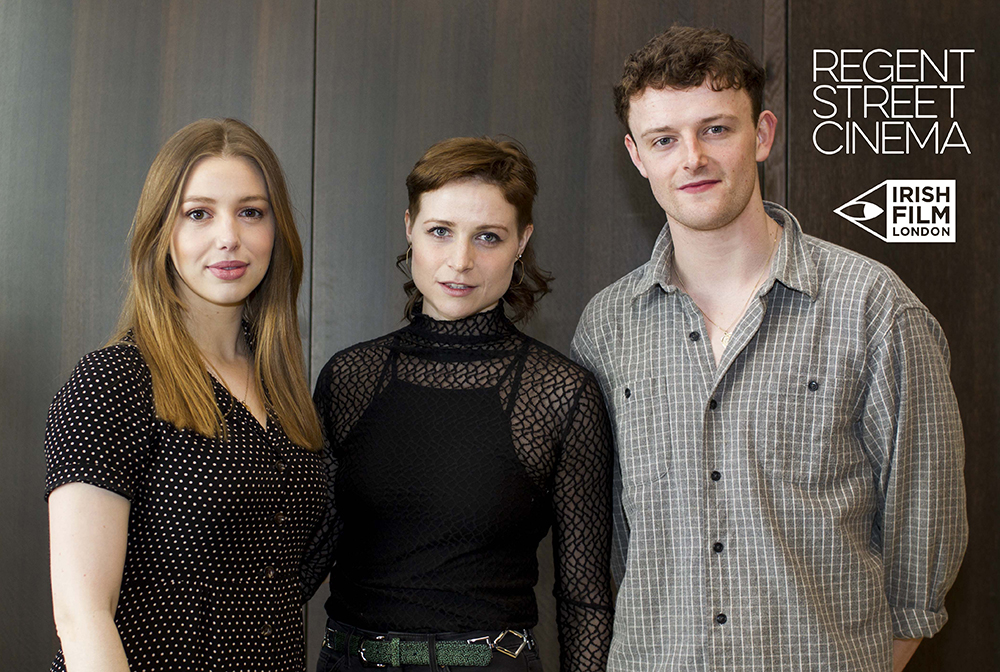 Irish Film London - Seana Kerslake, Niamh Algar and Chris Walley launch the St. Patrick's Film Festival London 2019