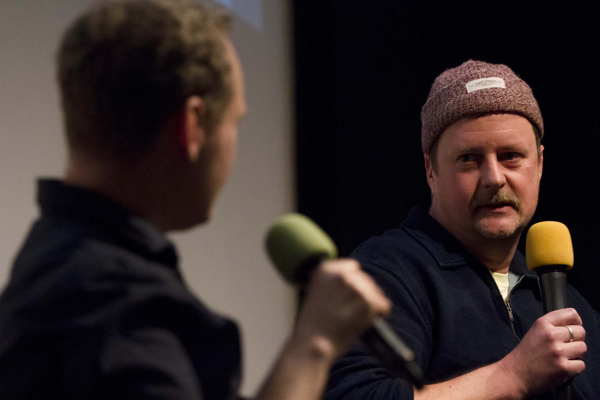 Irish Film London - Matthew Todd and John Butler at the St. Patrick's Film Festival London 2019