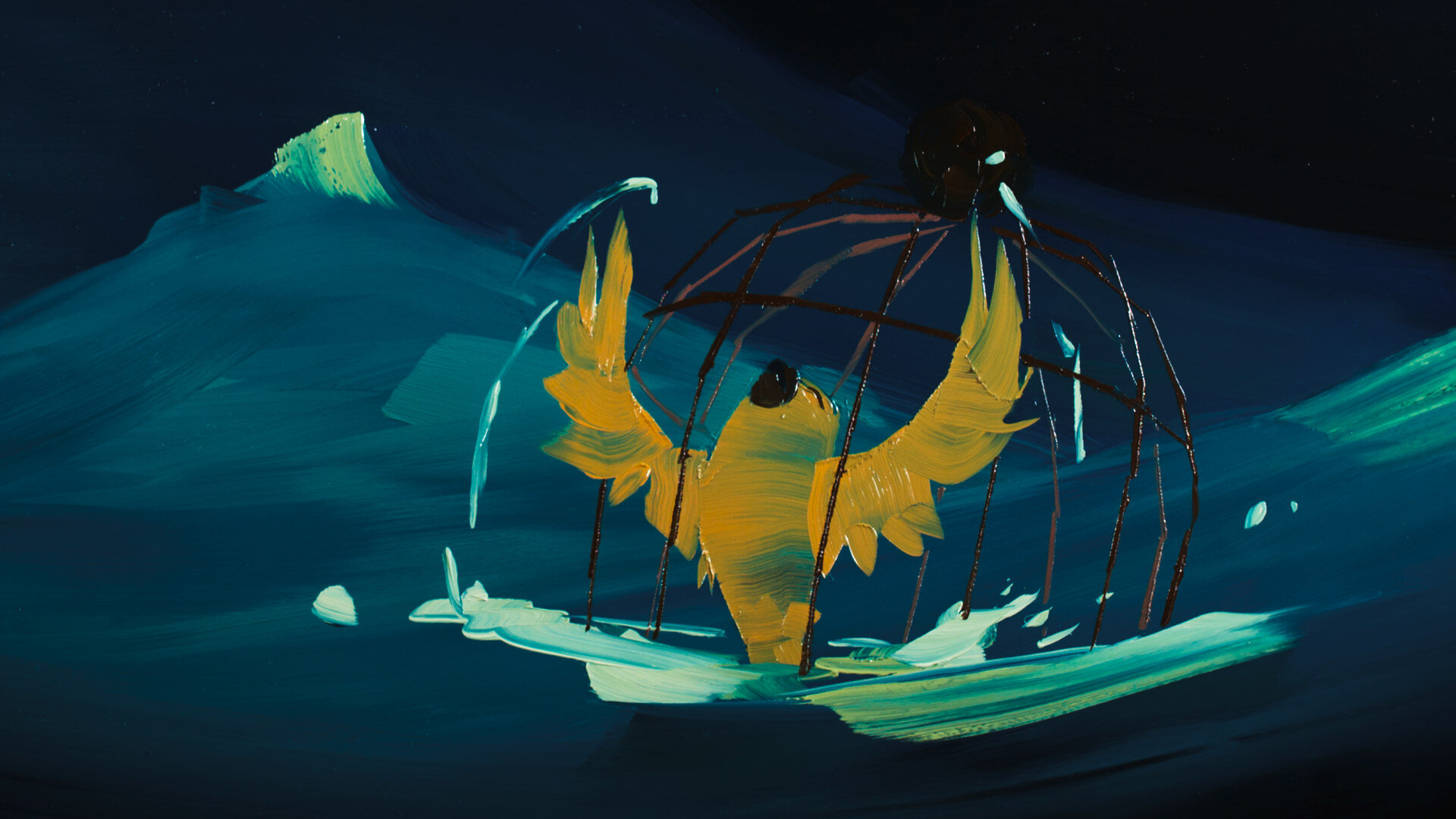 Still from The Bird and the Whale
