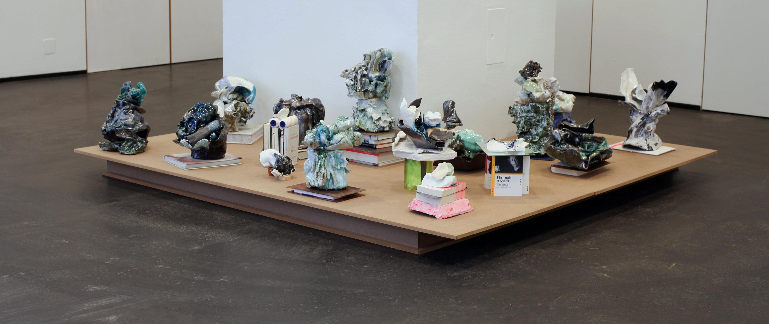 ceramics, 2016-2017