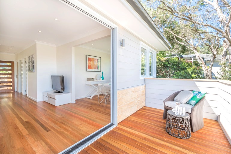 Bilgola Northern beaches granny flat 6