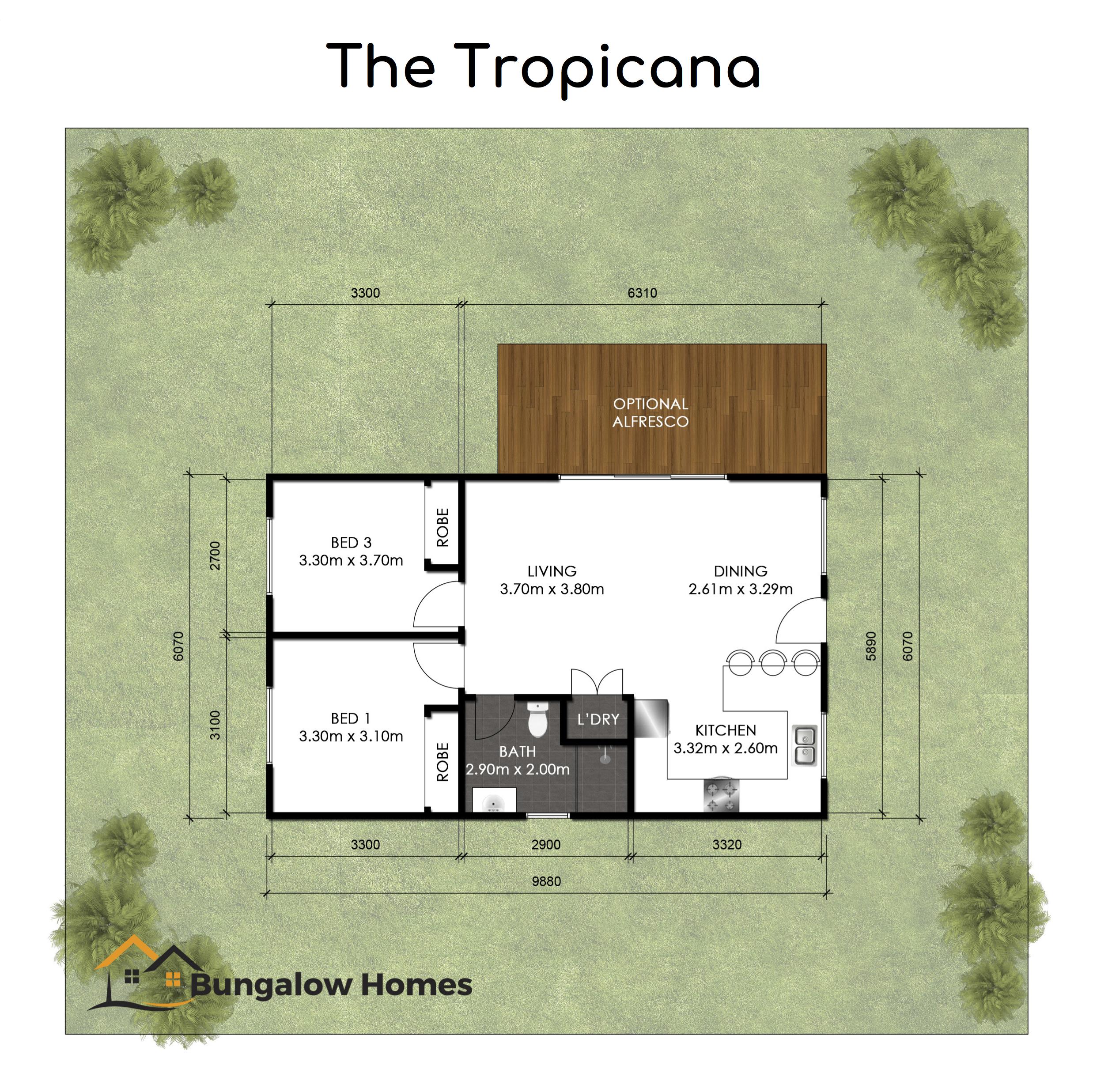Tropicana Bungalow Homes Granny Flat Design Floor Plan.png