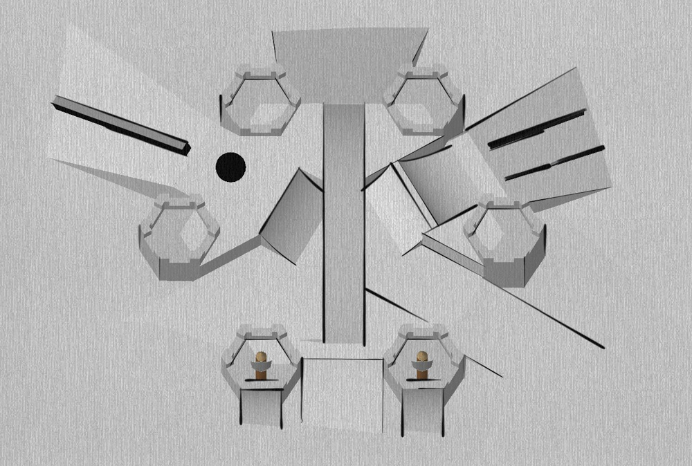 3D-grafika a tervezett pályáról (Fotó: Nine Queens)