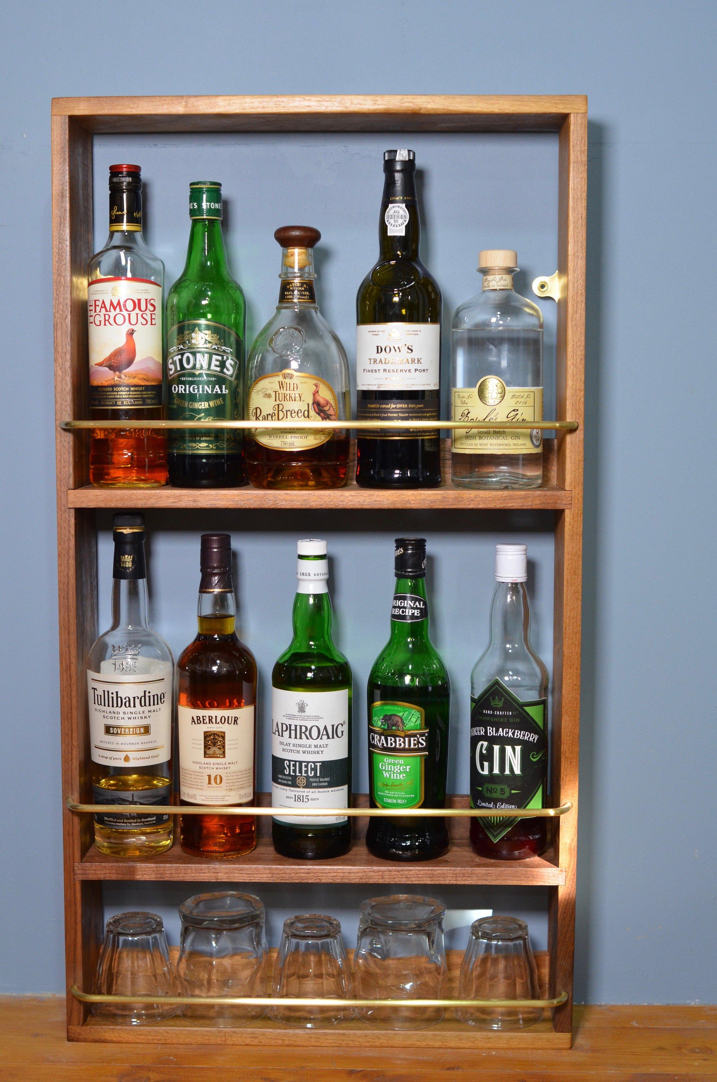 Whisky / Gin Shelf / Rack