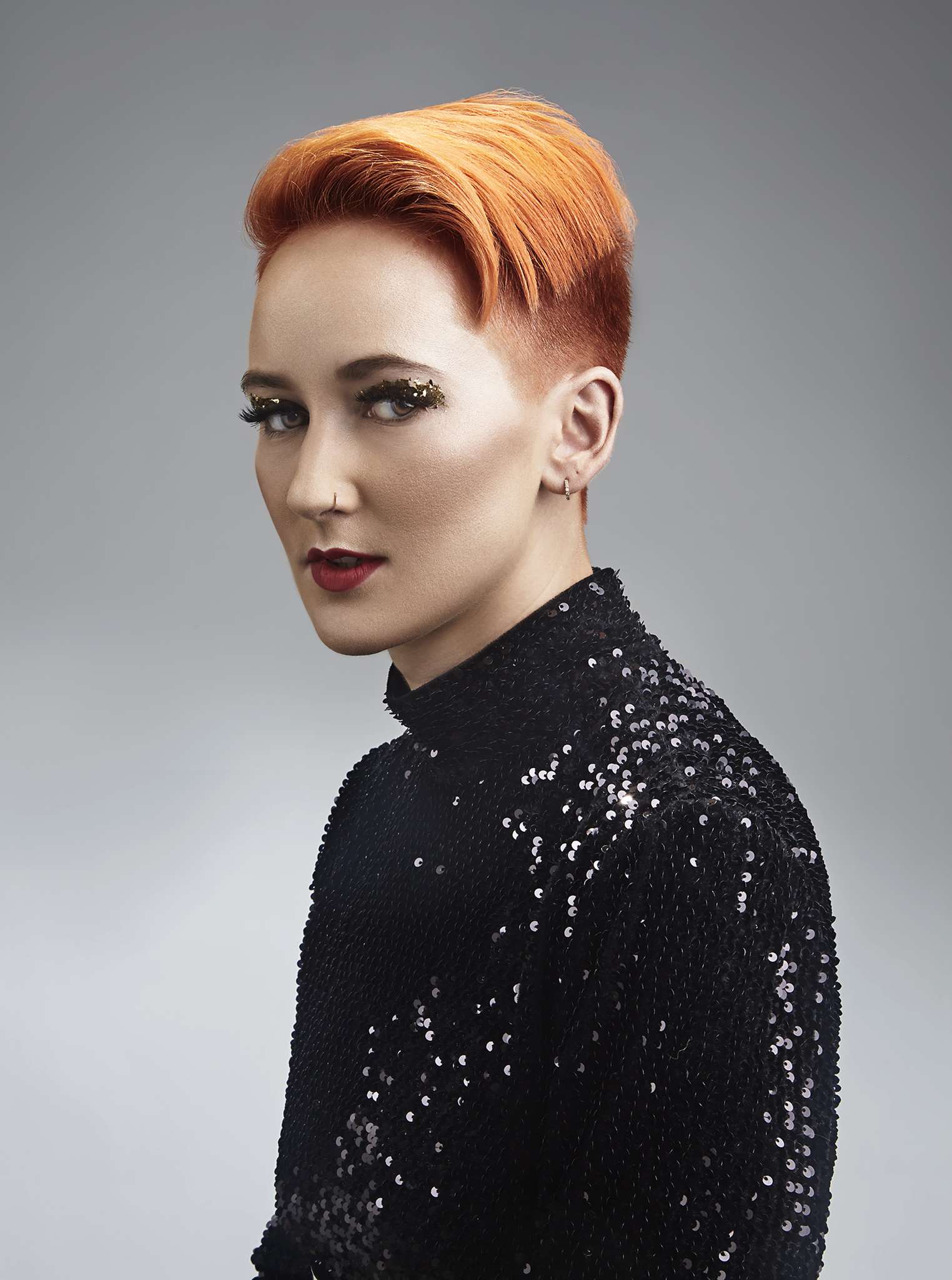 Fall-Hair-Collection-Shoot-for-Studio-Alf-Frisør-by-Dana-cole-red-hair-red-lipstick-black-blouse-hair-styling-advertising.jpg