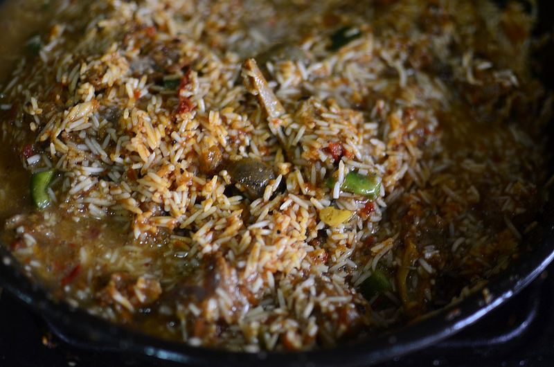Smoky Asun Jollof Rice
