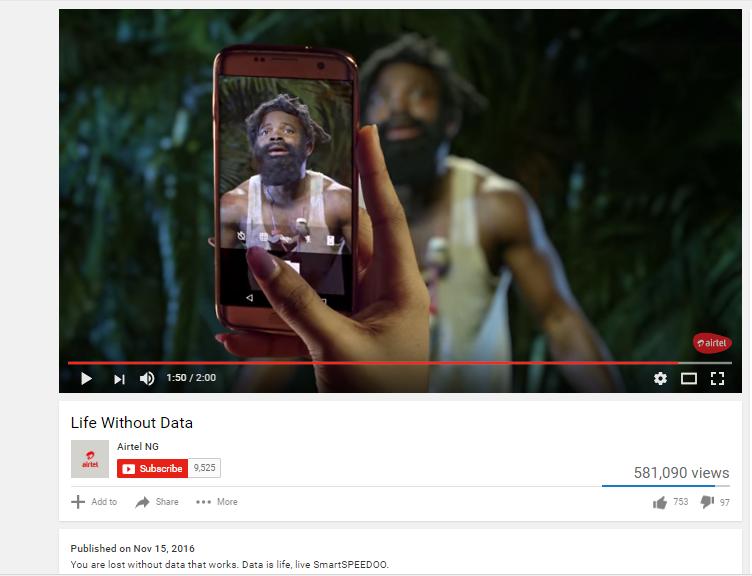 Screenshot: Life without Data // Source: Youtube
