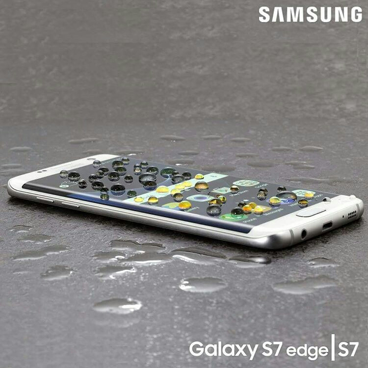 The waterproof Samsung Galaxy S7 edge