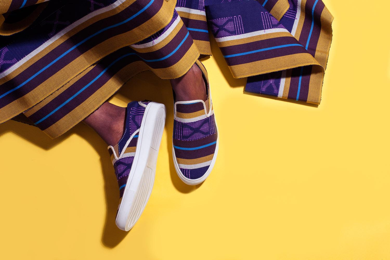 Contemporary African Footwear // Source: tundeowolabistudios.com/