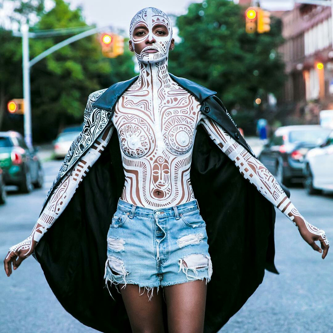 Laolu's body art
