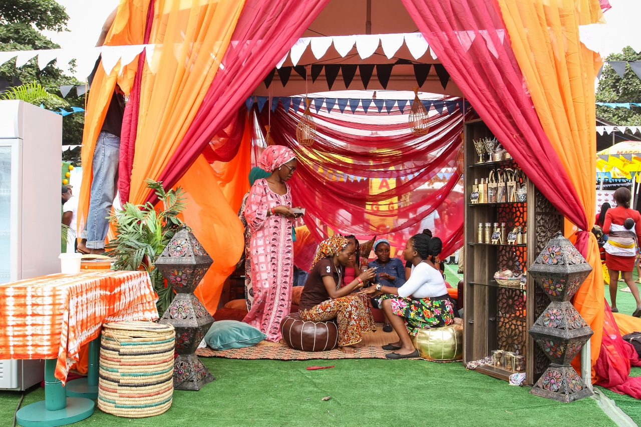 'The Henna Place' stand at SLAY festival. via bellanaija.com