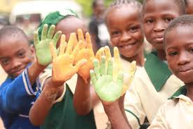 School Children Participating in the Art for a Cause Project / Source: Bellanaija
