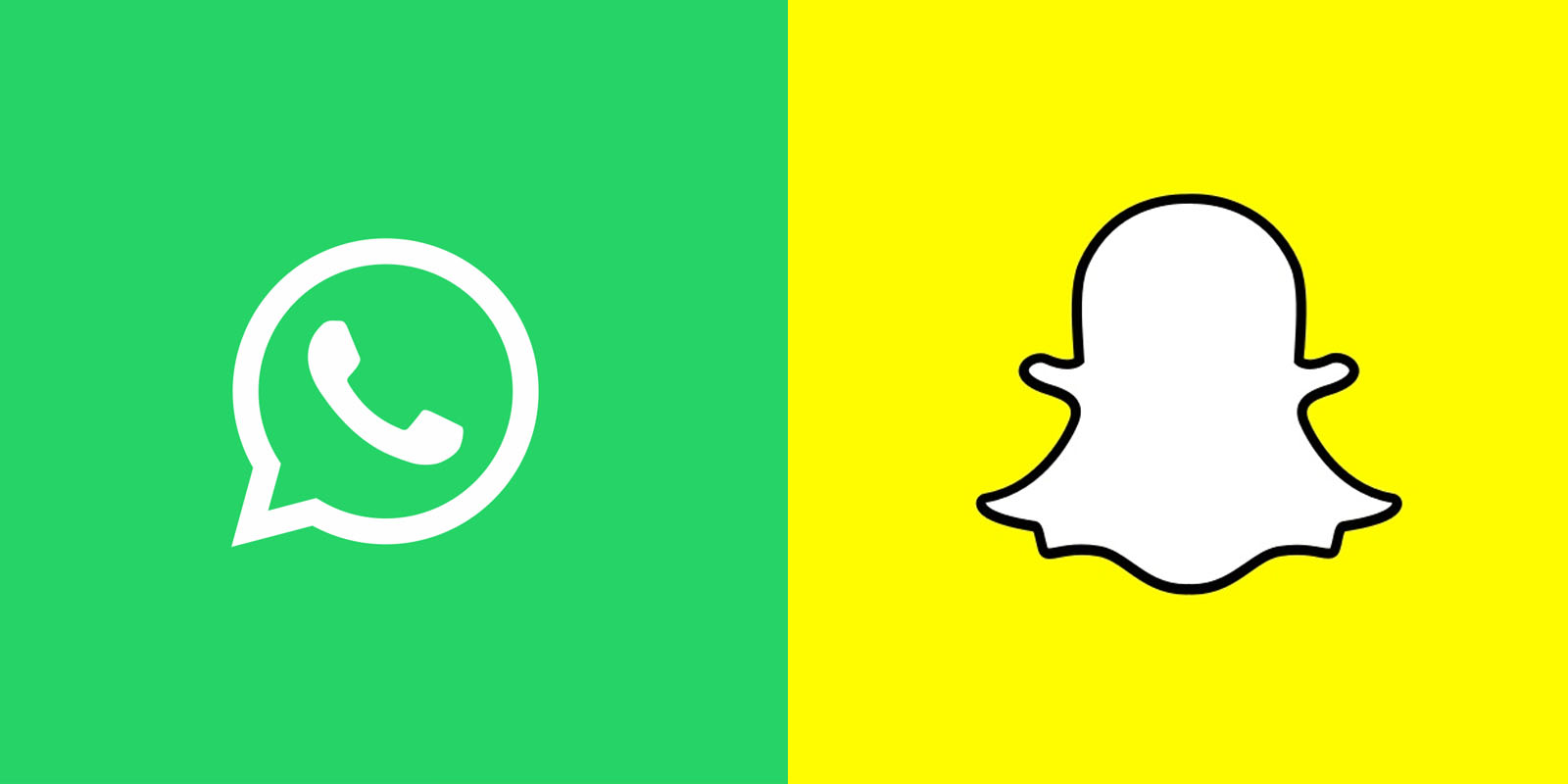 WhatsApp-Snapchat faceoff via thenextweb.com