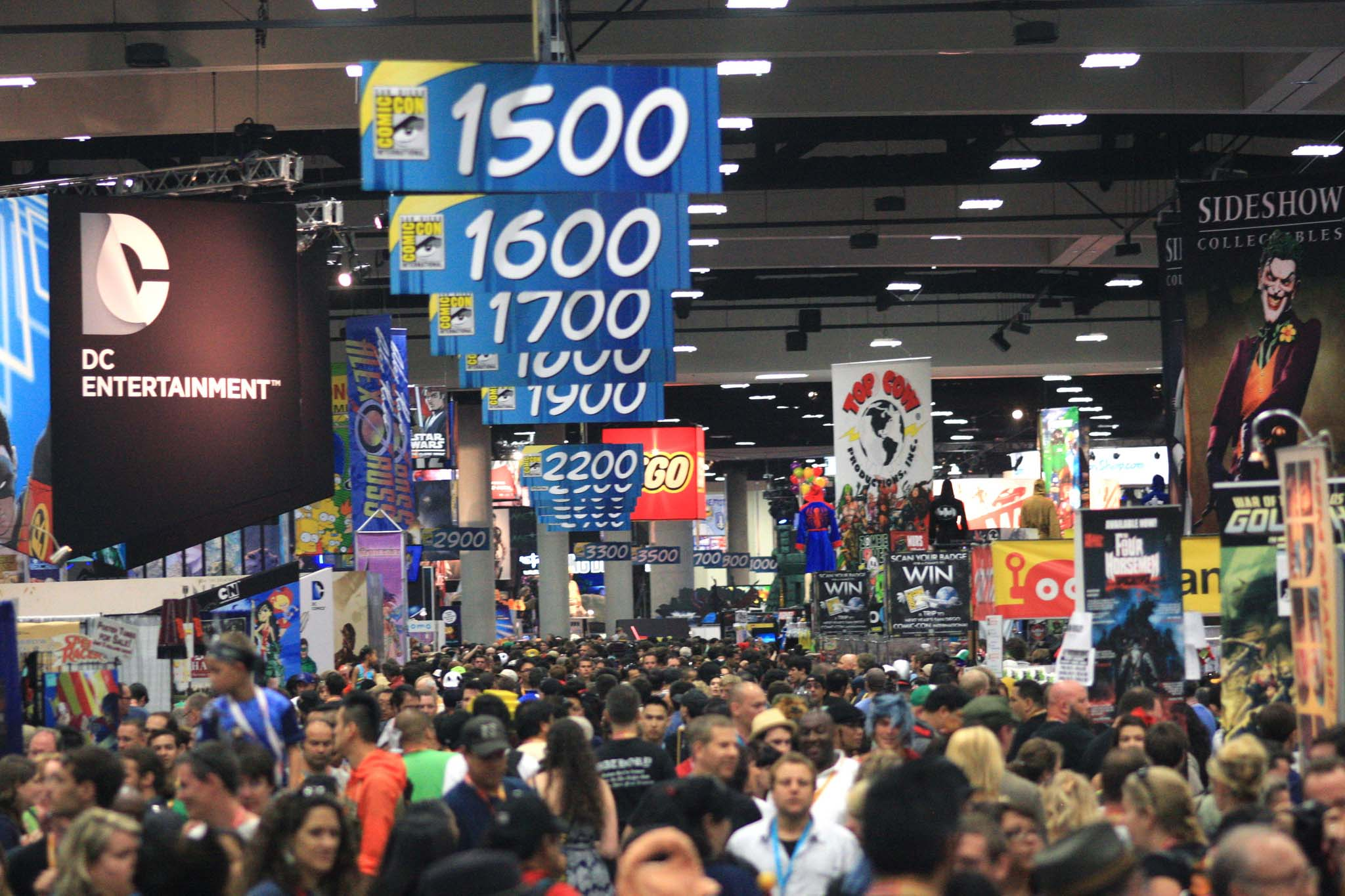 Attendees at Comic Con San Diego via stowawaymag.com