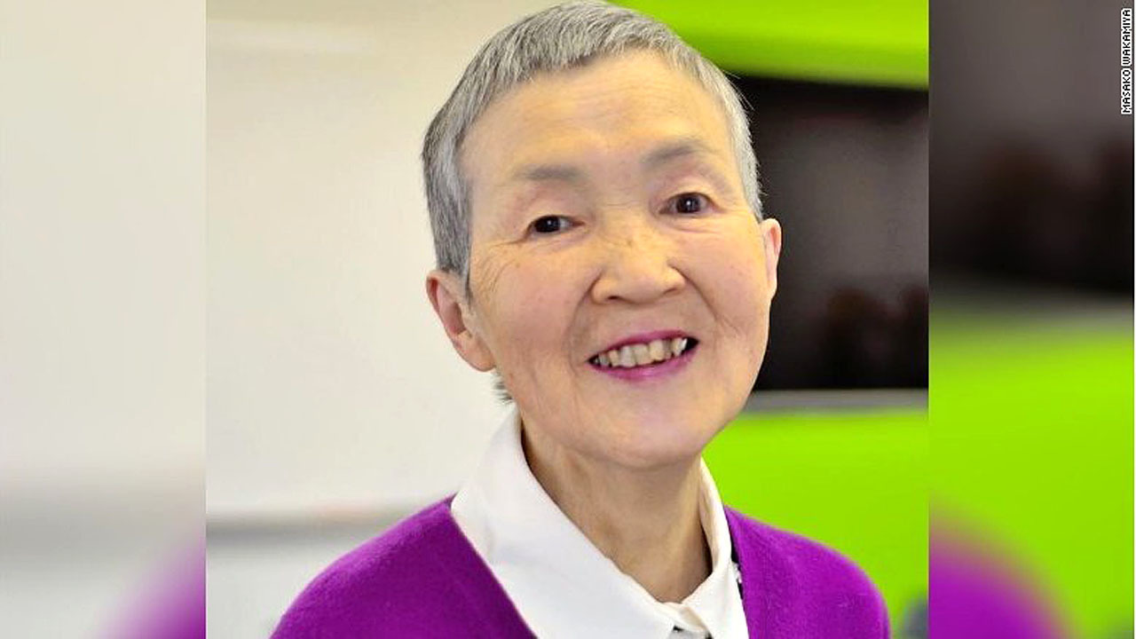 81 YEAR OLD MASAKO WAKAMIYA