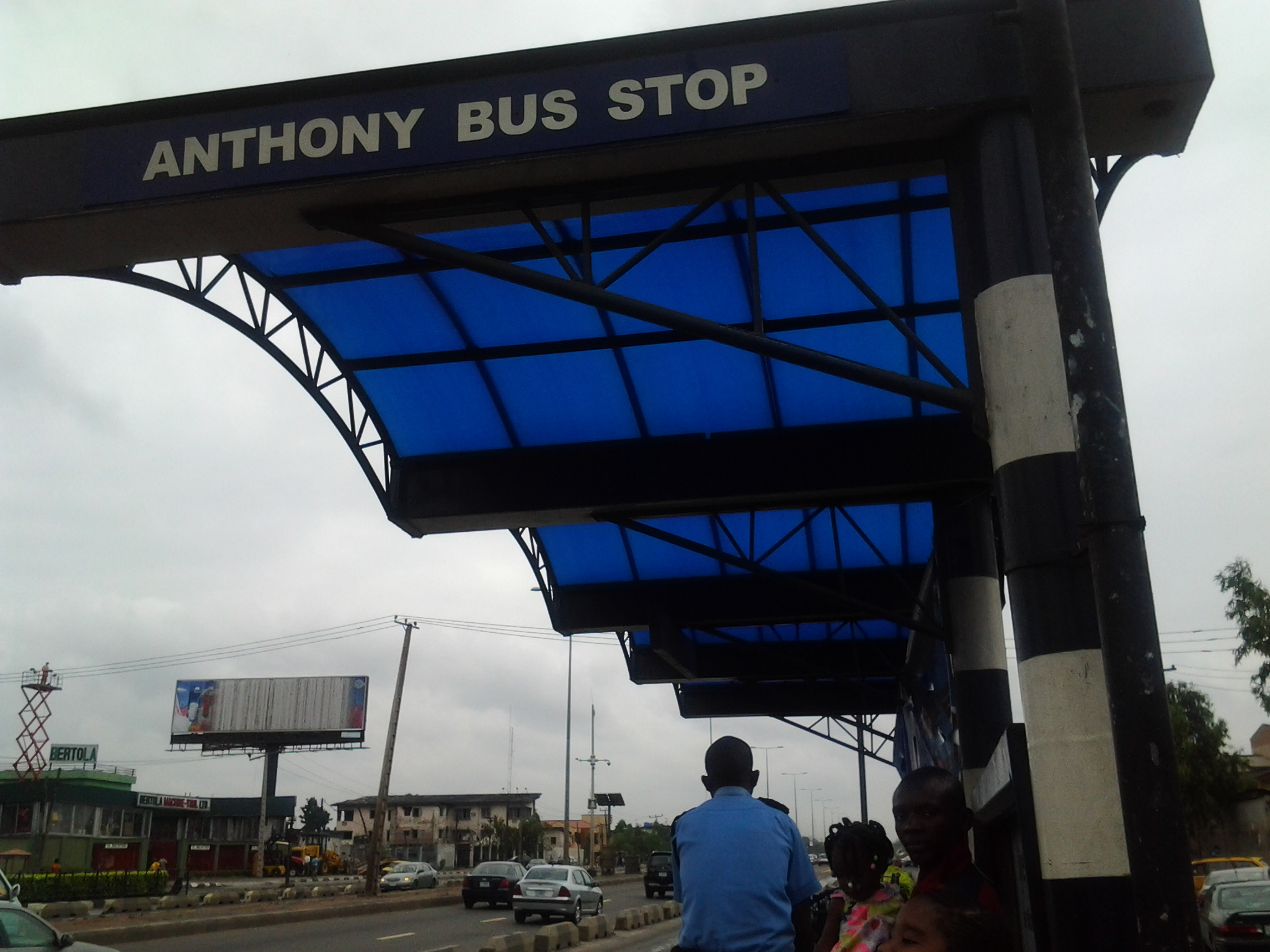 BRT Bus Stop, Lagos