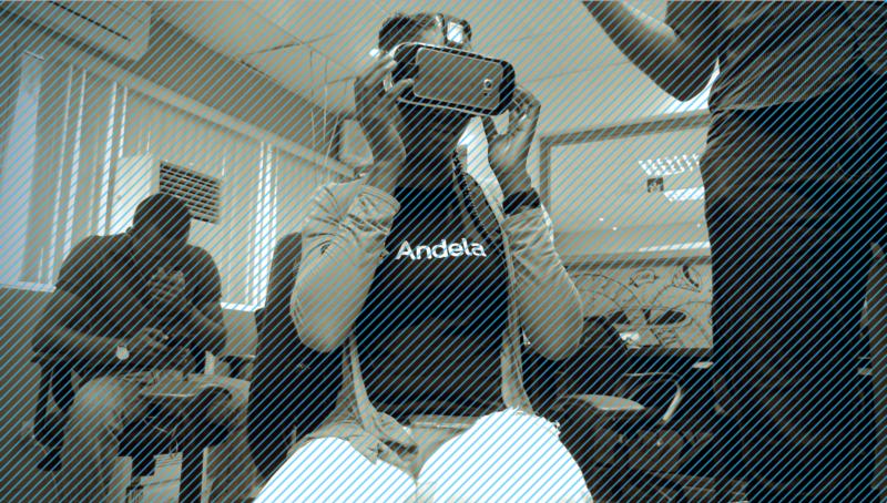 At the Imisi 3D VR showcase / Photo via medium.com/techcabal
