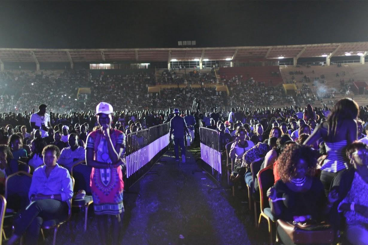 Wizkid, Popular Nigerian Afropop Artiste fills a Stadium  Photo by Joe Penney/Reuters/Newscom